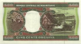 Mauretanien / Mauritania P.06i 500 Ouguiya 1996 (1)
