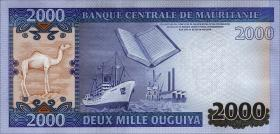 Mauretanien / Mauritania P.20 2000 Ouguiya 2011 (2012) (1)