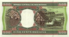Mauretanien / Mauritania P.06g 500 Ouguiya 1995 (1)