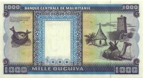 Mauretanien / Mauritania P.09b 1000 Ouguiya 2001 (1)
