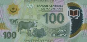 Mauretanien / Mauritania P.neu 100 Ouguiya 2017 Polymer (1)