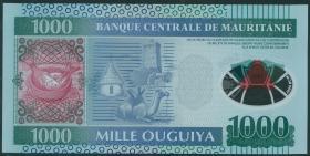 Mauretanien / Mauritania P.19 1000 Ouguiya 2014 Polymer (1)