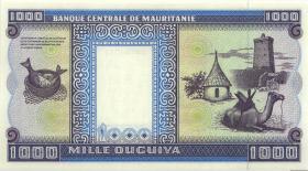 Mauretanien / Mauritania P.07f 1000 Ouguiya 1993 (1)