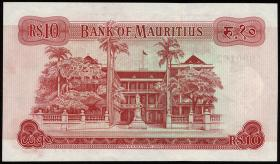 Mauritius P.31a 10 Rupien 1967 (1)
