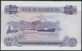 Mauritius P.33a 50 Rupien 1967 (1)