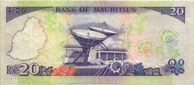 Mauritius P.36 20 Rupien o.D. (3)