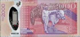 Mauritius P.neu 2000 Rupien 2018 Polymer (1)
