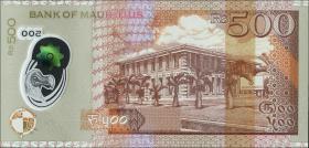 Mauritius P.neu 500 Rupien 2017 (1)