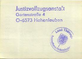 MDI-36 DDR Gefängnisgeld 10 Pfennig (1990) (1-)