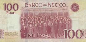 Mexiko / Mexico P.neu 100 Pesos 2016 Gedenkbanknote (1)