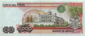 Mexiko / Mexico P.087 5000 Pesos 1985 (1)