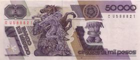 Mexiko / Mexico P.093a 50.000 Pesos 1988 (1/1-)