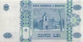 Moldawien / Moldova P.09c 5 Lei 1999 (1)