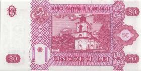 Moldawien / Moldova P.14b 50 Lei 2002 (1)