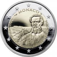 Monaco 2 Euro 2016 150 Jahre Monte Carlo