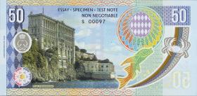 Monaco 50 Francs 2018 Grace Kelly (1)