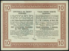 Montenegro P.M151 10 Perper 1917 (1/1-)