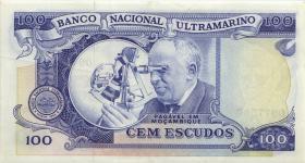 Mozambique P.113 100 Escudos 1972 (2)