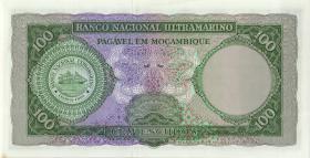 Mozambique P.109b 100 Escudos 1961 (1)
