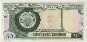 Mozambique P.111 50 Escudos 1970 (1)