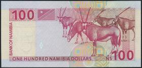 Namibia P.09a 100 Dollars (1999)  (1) 7-stellig