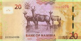 Namibia P.17b 20 Namibia Dollars 2018 (1)