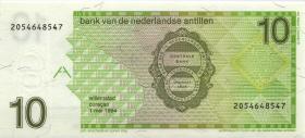 Niederl. Antillen / Netherlands Antilles P.23c 10 Gulden 1994 (1)