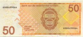 Niederl. Antillen / Netherlands Antilles P.30d 50 Gulden 2006 (1)