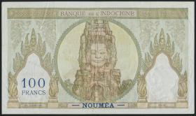Neu Kaledonien / New Caledonia P.42e 100 Francs (1937-67) (3)
