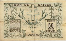 Neu Kaledonien / New Caledonia P.51 50 Centimes 1942 (2)