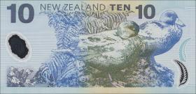 Neuseeland / New Zealand P.186a 10 Dollars (19)99 (1)