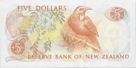 Neuseeland / New Zealand P.171b 5 Dollars (1985-89) (1)