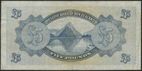 Neuseeland / New Zealand P.156 5 Pounds 1934 (3)