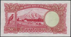 Neuseeland / New Zealand P.162a 50 Pounds (1940-55) (3/2)