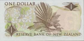 Neuseeland / New Zealand P.163c 1 Dollar (1975-77) (1)