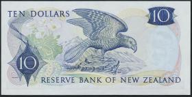 Neuseeland / New Zealand P.166b 10 Dollars (1968-75) (1/1-)