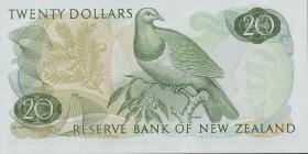 Neuseeland / New Zealand P.167b 20 Dollars (1968-75) (1)