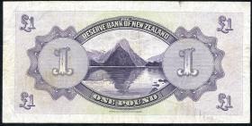 Neuseeland / New Zealand P.155 1 Pounds 1934 (3-)