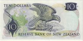 Neuseeland / New Zealand P.166c 10 Dollars (1975-77) (1)