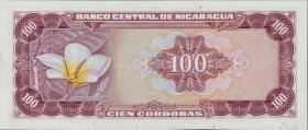 Nicaragua P.126 100 Cordobas 1972 (1)