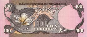 Nicaragua P.137 100 Cordobas 1979 (1)