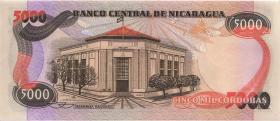 Nicaragua P.146 5000 Cordobas L. 1985 (1)