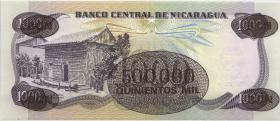 Nicaragua P.150 500.000 auf 1000 Cordobas (1987) (1)
