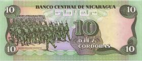 Nicaragua P.151 10 Cordobas 1985 (1)