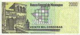 Nicaragua P.160 20.000 Cordobas (1989) (1)