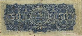 Nicaragua P.034 50 Centavos 1906 (4)