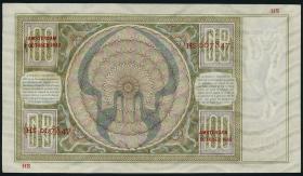 Niederlande / Netherlands P.051c 100 Gulden 1942 (1/1-)