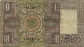 Niederlande / Netherlands P.049 10 Gulden 1939 (3)