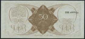 Niederlande / Netherlands P.078 50 Gulden 1945 (2)