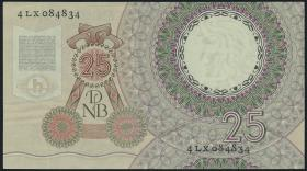 Niederlande / Netherlands P.087 25 Gulden 1955 (2/1)